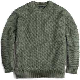 United By Blue Organic Cotton Crew Trui Heren, dark olive